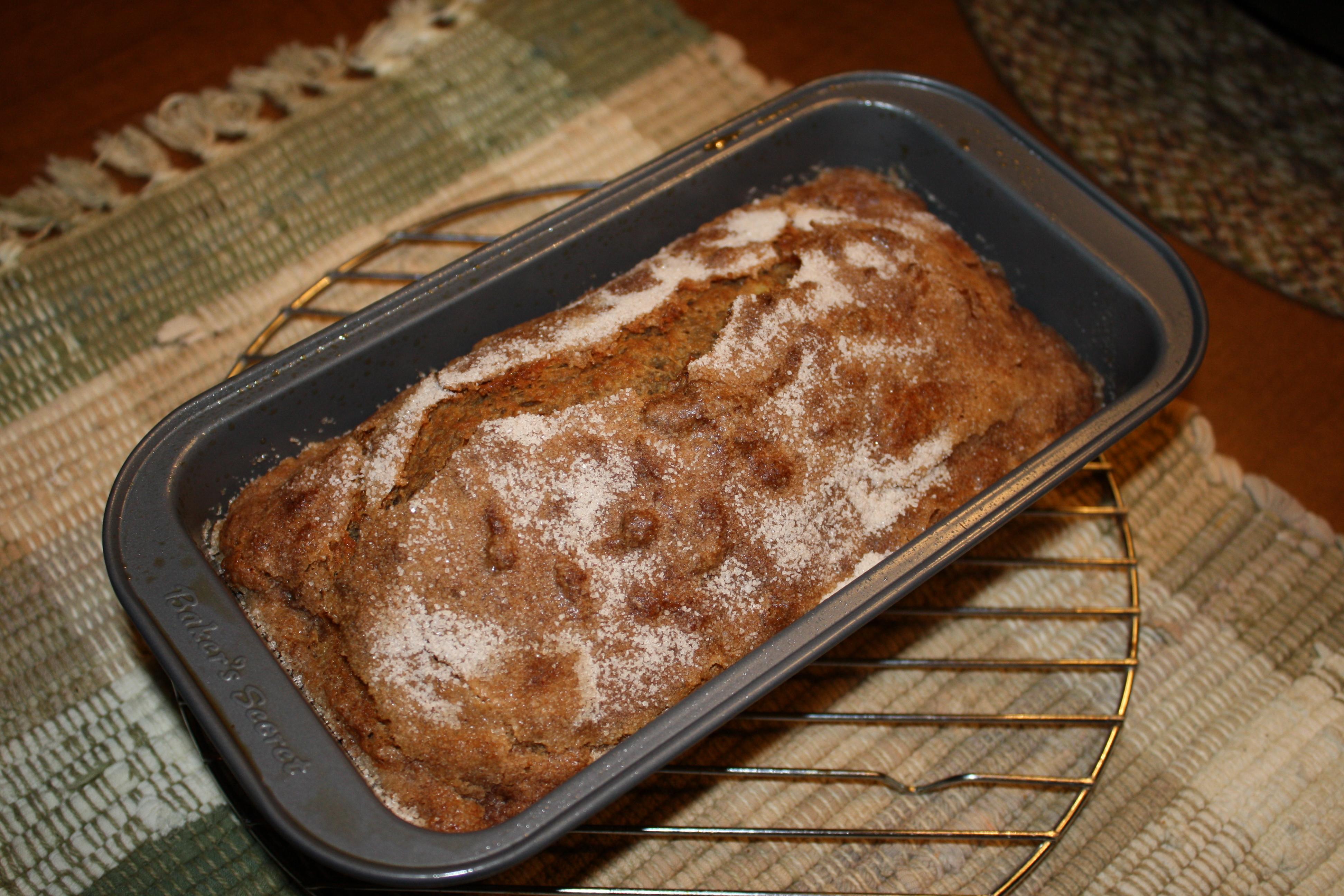 Toaster Oven Roasted Whole Wheat Banana Bread Marge Bakes